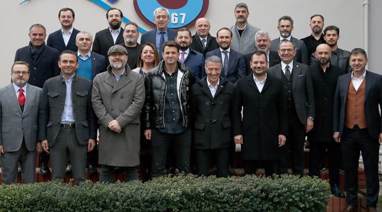 Trabzonspor yönetiminden Hüseyin Çimşir'e destek