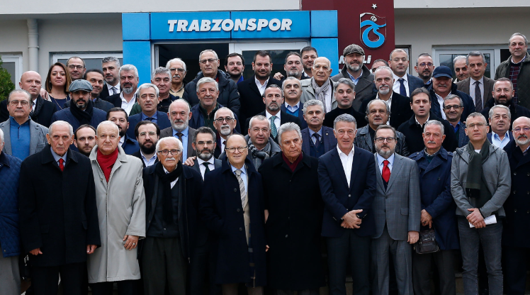 Trabzonspor yönetimine destek