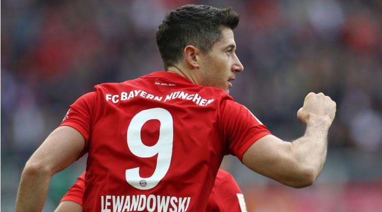 İlk yarının en iyisi Lewandowski