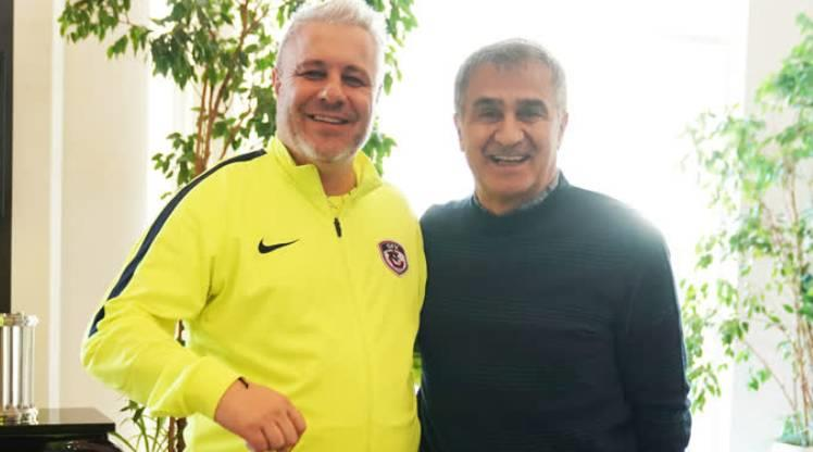 Şenol Güneş'ten Gaziantep FK'nin kampına ziyaret
