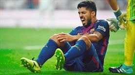 Suarez aylarca futboldan uzak kalacak