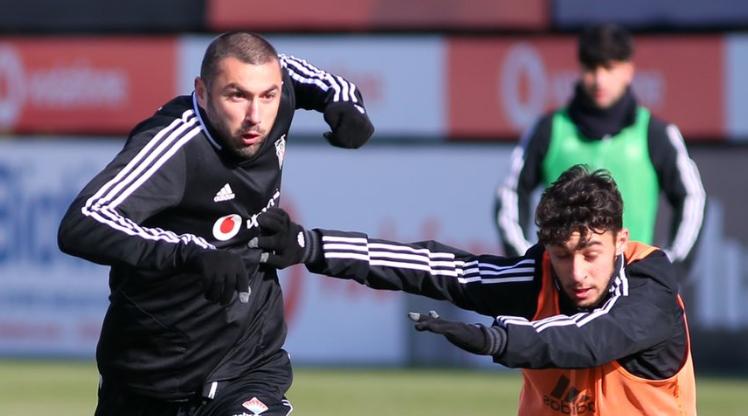 Beşiktaş, Demir Grup Sivasspor maçı hazırlıklarını sürdürdü