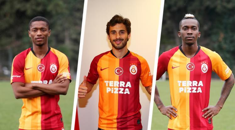 Galatasaray, yeni transferlerinin lisansını çıkarttı
