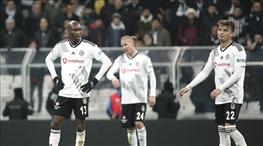 Beşiktaş, averajda dibi gördü