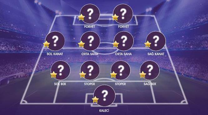 İşte Süper Lig'de 18. haftanın en iyi 11'i