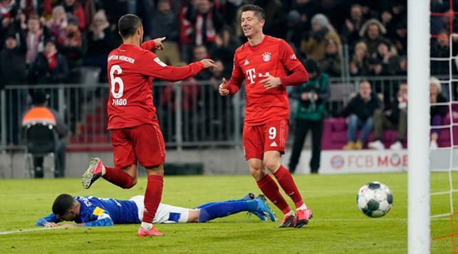 Bayern'den gol şov: 5-0