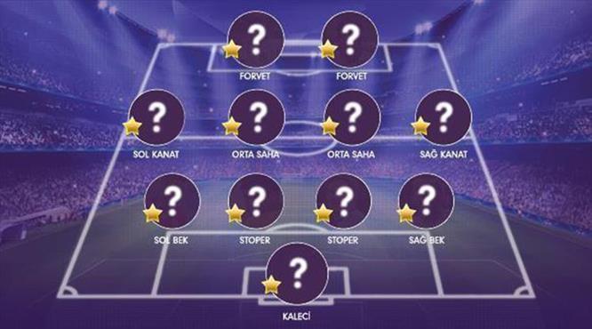 İşte Süper Lig'de 19. haftanın en iyi 11'i