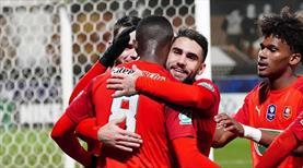 9 gollü çılgın maçta tur Rennes'in (ÖZET)