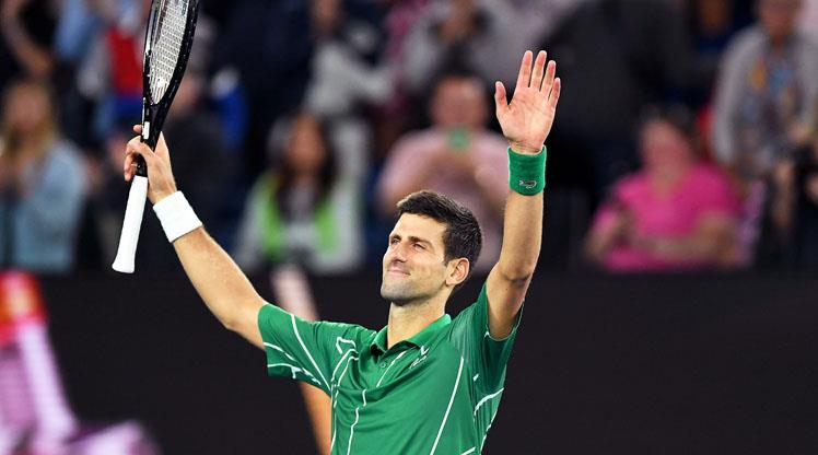 Djokovic geleneği sürdürdü