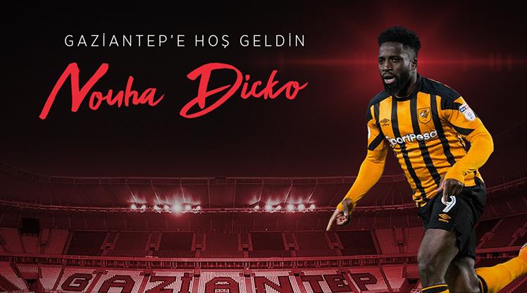 Gaziantep FK, Dicko'yu açıkladı