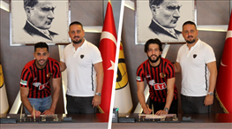 Eskişehirspor, Mevlüt ve Kaan'la uzattı