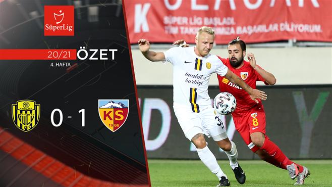 ÖZET | MKE Ankaragücü 0-1 HK Kayserispor