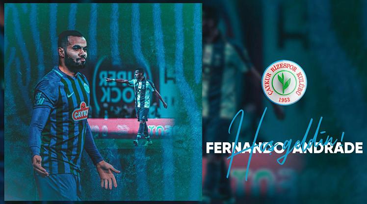Rizespor, Fernando'yu duyurdu