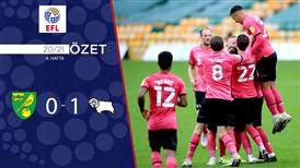ÖZET   Norwich City 0-1 Derby County