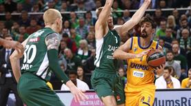 Khimki-Zalgiris maçı ertelendi