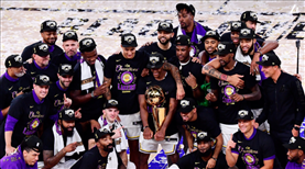 NBA Şampiyonu Los Angeles Lakers