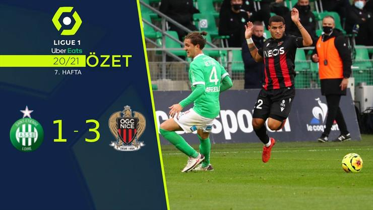 ÖZET   Saint-Etienne 1-3 Nice