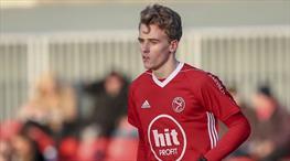 Bergkamp'ın oğlu Arsenal antrenmanında
