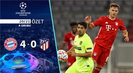 ÖZET   Bayern Münih 4-0 Atletico Madrid