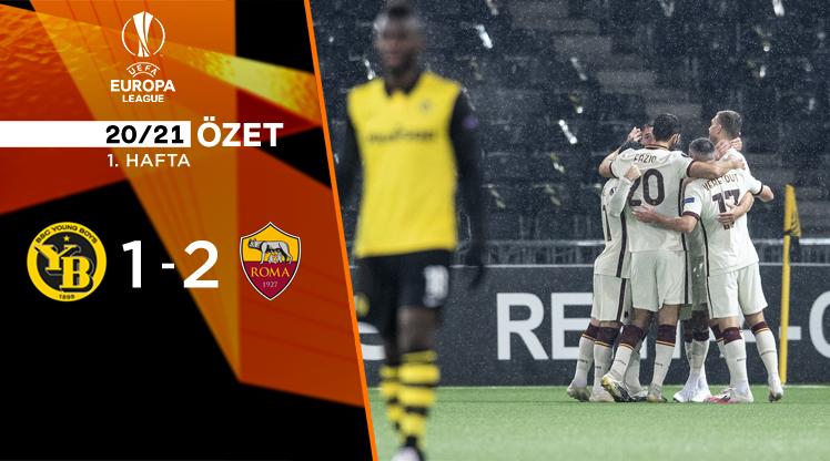 ÖZET   Young Boys 1-2 Roma