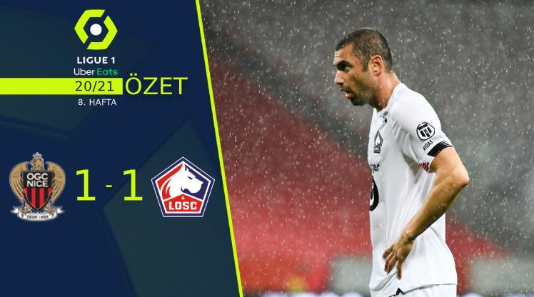 ÖZET | Nice 1-1 Lille