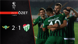 ÖZET   Akhisarspor 2-1 Bursaspor