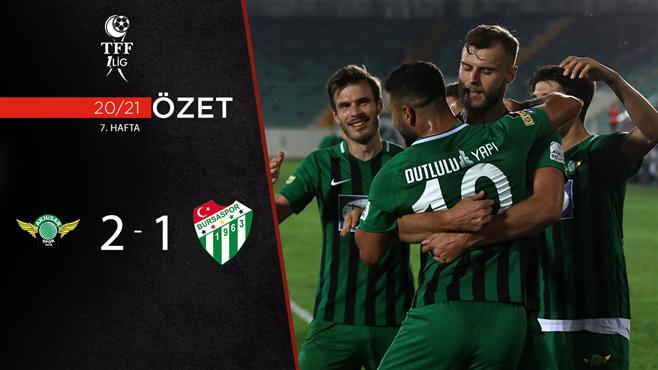 ÖZET | Akhisarspor 2-1 Bursaspor