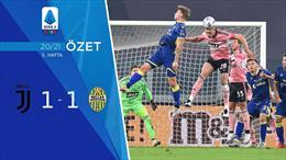 ÖZET   Juventus 1-1 Verona