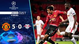 ÖZET   Manchester United 5-0 Leipzig
