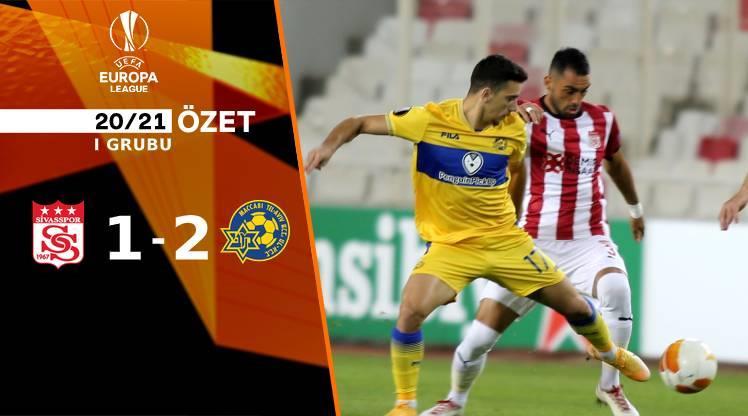 ÖZET   Sivasspor 1-2 Maccabi Tel Aviv