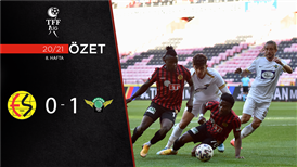 ÖZET | Eskişehirspor 0-1 Akhisarspor