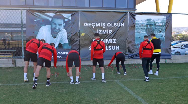 Göztepe'de Erzurumspor mesaisi