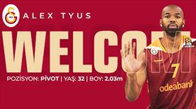 Alex Tyus, Galatasaray'a geri döndü