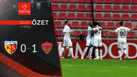 ÖZET | HK Kayserispor 0-1 A. Hatayspor