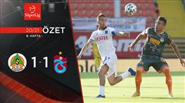 ÖZET | A. Alanyaspor 1-1 Trabzonspor