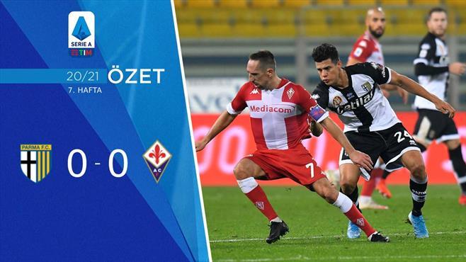 ÖZET | Parma 0-0 Fiorentina