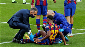 Barcelona'ya Fati'den kötü haber