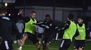 Beşiktaş'ta Başakşehir mesaisi başladı