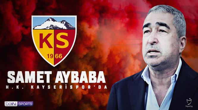 Samet Aybaba resmen Kayserispor'da