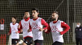 Antalyaspor'dan çift idman
