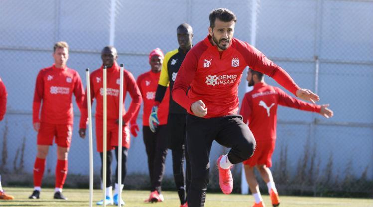DG Sivasspor hazırlıklarını sürdürdü