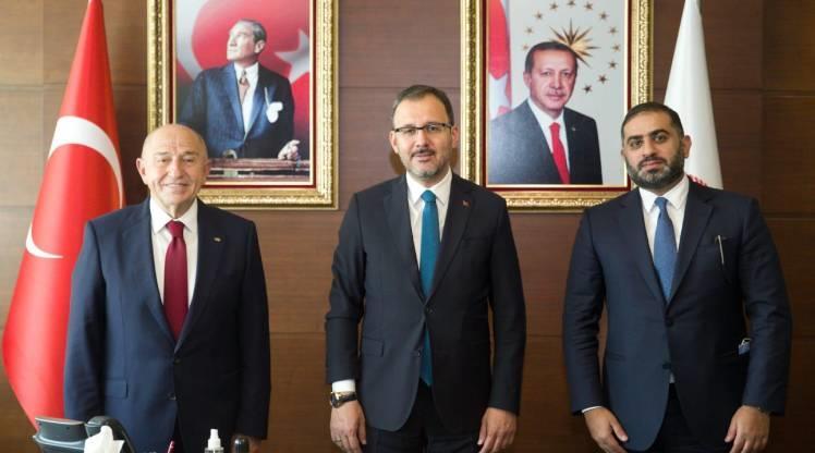"""Gençlik ve Spor Bakanı Kasapoğlu: """"TFF ile beIN SPORTS anlaşmaya vardı"""""""