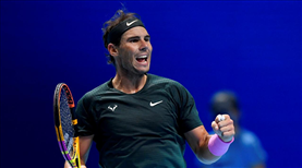 Nadal adını yarı finale yazdırdı