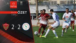 ÖZET | A. Hatayspor 2-2 Çaykur Rizespor