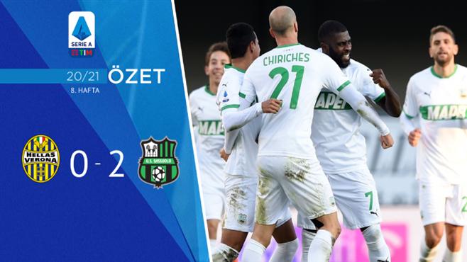 ÖZET | Hellas Verona 0-2 Sassuolo