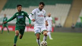 Bursaspor'a tek gol yetti