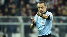 Çakır, Şampiyonlar Ligi'nde 50. kez görev alacak