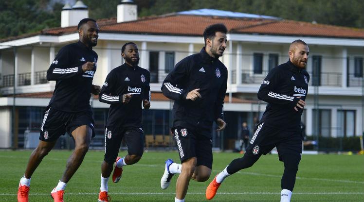 Beşiktaş derbi hazırlıklarını sürdürüyor