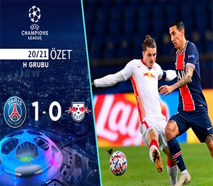 ÖZET | PSG 1-0 Leipzig