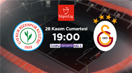 Galatasaray, Rize deplasmanında! Muhtemel 11'ler